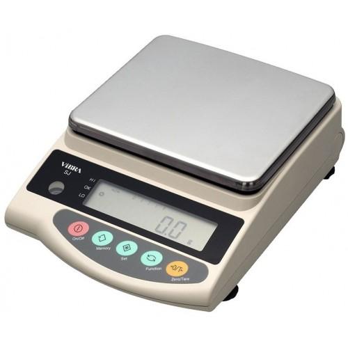 Весы лабораторные технические VIBRA SJ-12KCE (12 кг, 1 г, внешняя калибровка)