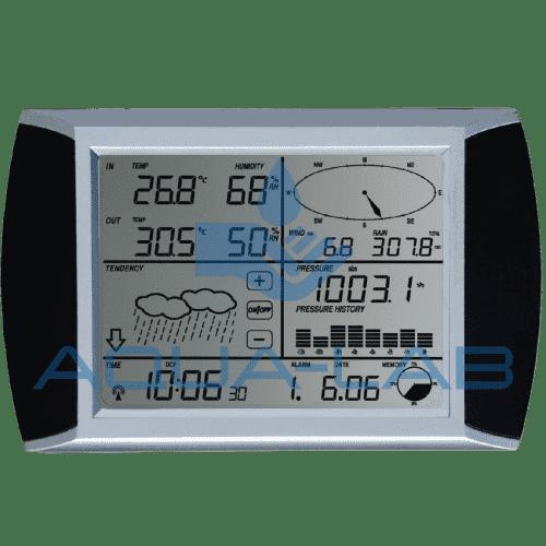 Профессиональная метеостанция AMTAST WH1080 с беспроводными датчиками и сенсорным экраном