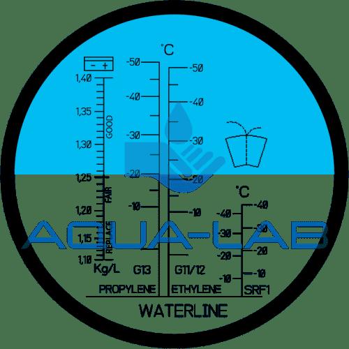 Рефрактометр Kelilong RHA503C для технических жидкостей