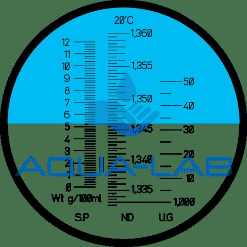 Рефрактометр Amtast VUR3 для лабораторных анализов