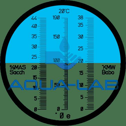 Рефрактометр Kelilong RHBS-44ATC для виноделия и консервации