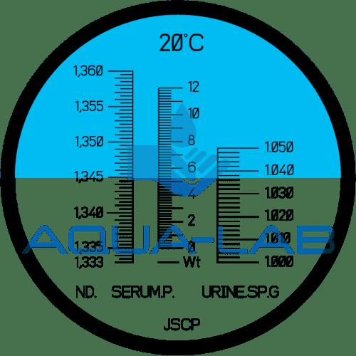 Рефрактометр медицинский Kelilong RHC-200АТС предназначен для измерения клинического белка сыворотки