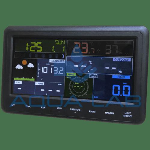 Метеостанция AMTAST AW006 с беспроводной передачей данных по Wi-Fi + приложение для телефона