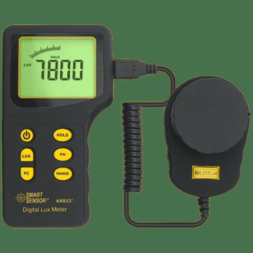 Smart Sensor AR823 (Люксметр цифровой с выносным датчиком)