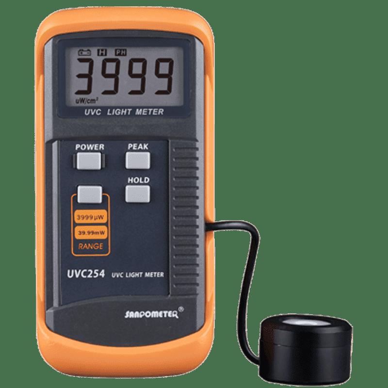 Sanpometer UVC254 (Профессиональный измеритель ультрафиолетового излучения)