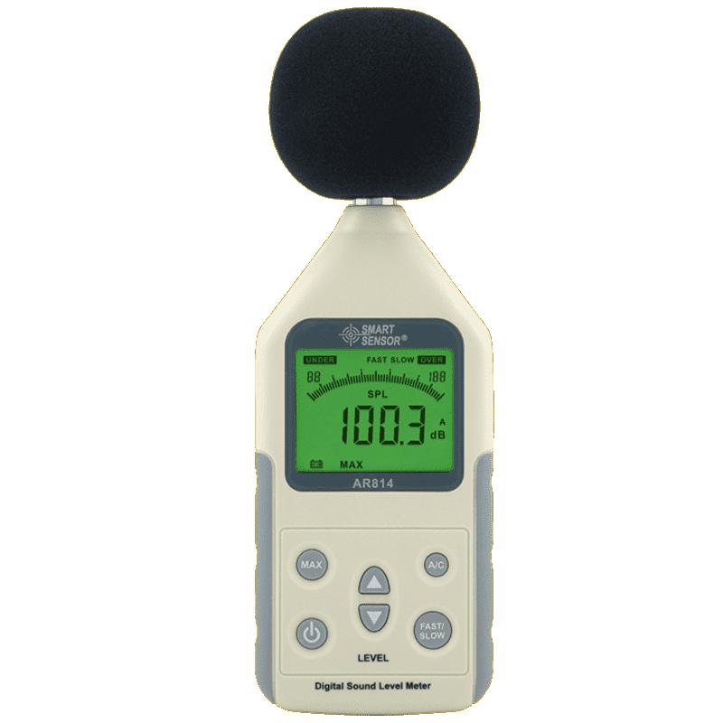 Smart Sensor AR814 (шумомер, измеритель уровня звука 30~130 dBA)