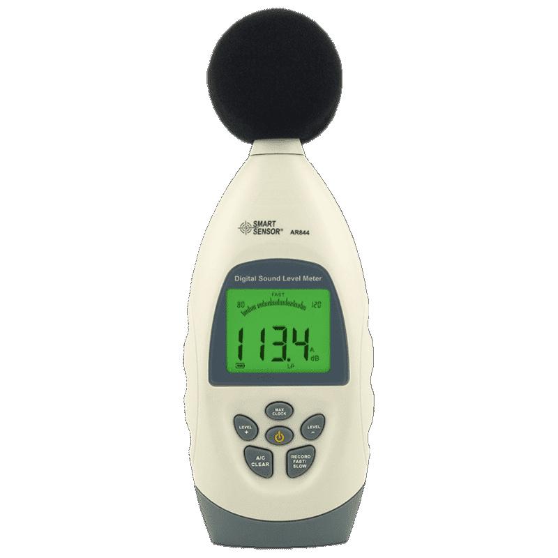 Smart Sensor AR844 с USB (шумомер, измеритель уровня звука 30~130 dBA)