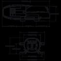Мембранный насос Flojet - BevJet Compact BIB BLC3011-000A размеры