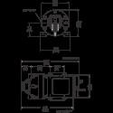 Мембранный насос Flojet Triplex R3811143A 12В размеры