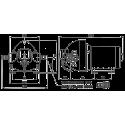Мембранный насос Flojet Triplex R3521149A 12В размер
