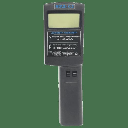 Профессиональный радиометр ИРД-02 ☢ для измерения радиации