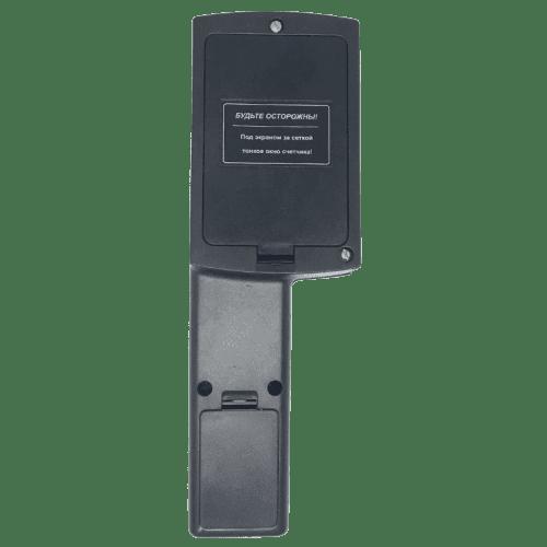 Профессиональный радиометр ИРД-02 ☢ для измерения радиации (вид сзади)