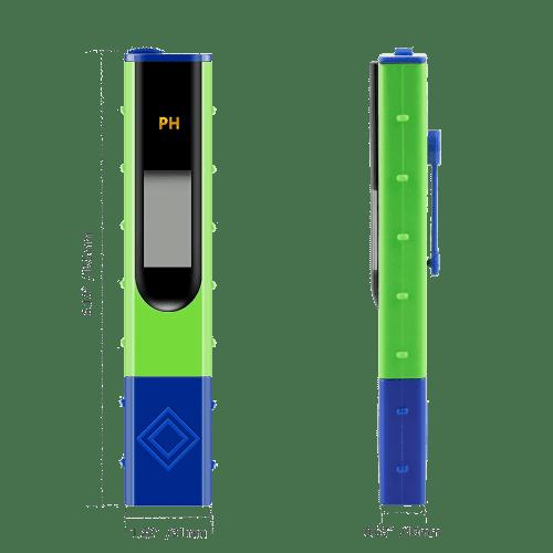 Kelilong PH-061 размеры портативного pH метра для воды
