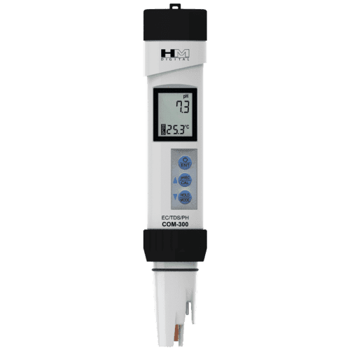 HM Digital COM-300 pH/EC/TDS метр/термометр °С