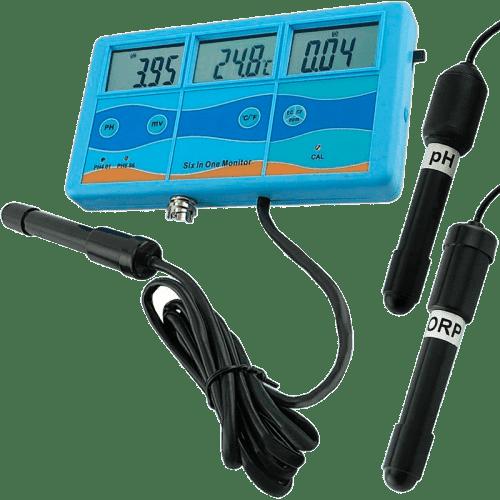 Kelilong PHT-027: pH/ОВП/TDS/EC метр/термометр °C