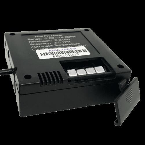 Аквариумный pH метр PH-025 с выносным электродом (отсек для батареи)