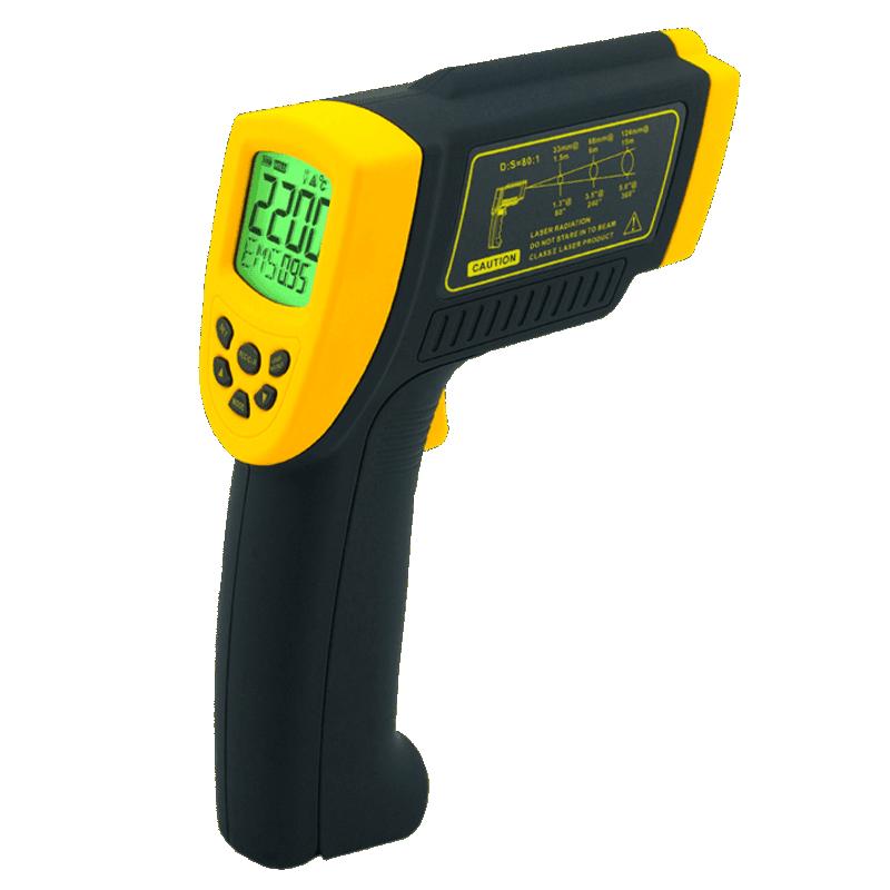 Smart-Sensor AR892 высокоточный пирометр с разъемом RS232 (80:1 от +200 до +1800°C)