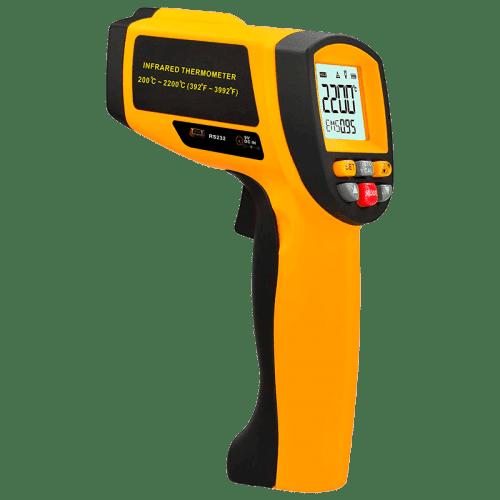 AMTAST AMF017 пирометр, разъем RS232 (80:1 200 ~ 2200°C)