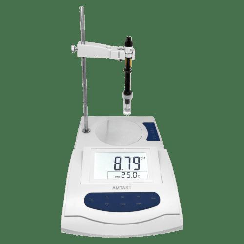 AMTAST AMT10 лабораторный рН/ОВП метр вид сбоку