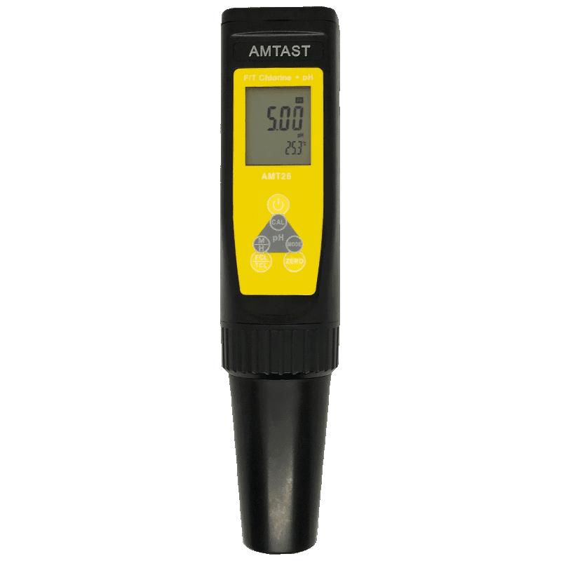 AMTAST AMT26 хлориметр|pH метр - анализатор свободного и общего хлора в воде