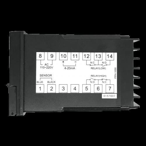 HM Digital PPH-1000 схема подключения контроллера