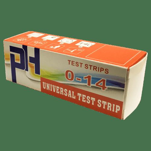 Индикаторная бумага pH тест полоски 150 штук pH от 0 до 14