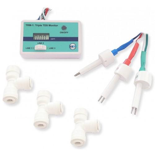 Трехлинейный монитор качества воды TRM-1 HM Digital (комплектация)
