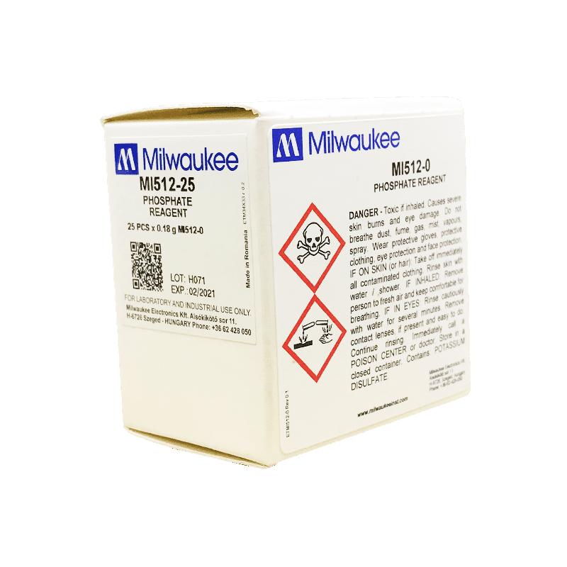 Milwaukee MI512-25 фосфаты (порошковый реагент для фотометра MW12)
