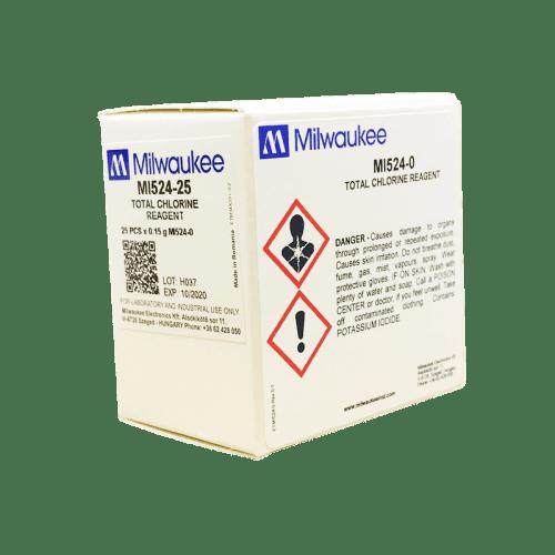Milwaukee MI524 общий хлор (порошковый реагент для фотометра MW11)