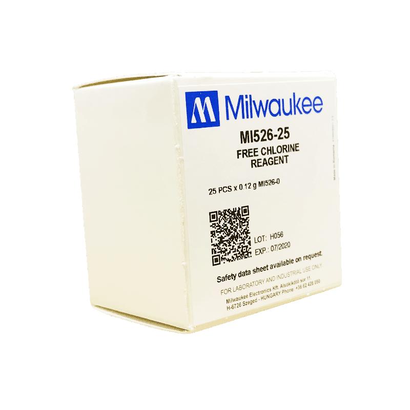 Milwaukee MI526 свободный хлор (порошковый реагент для фотометра MW10)