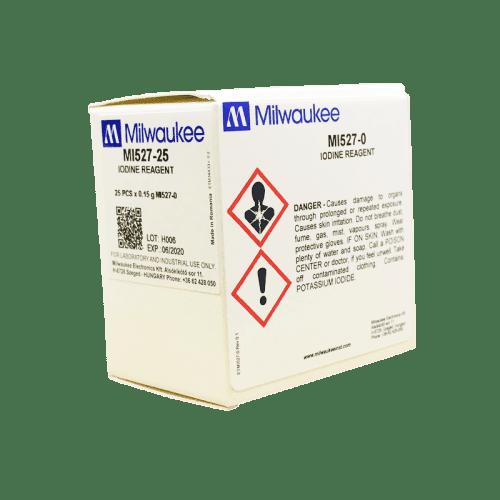 Milwaukee MI527 йод (порошковый реагент для фотометра MW13)
