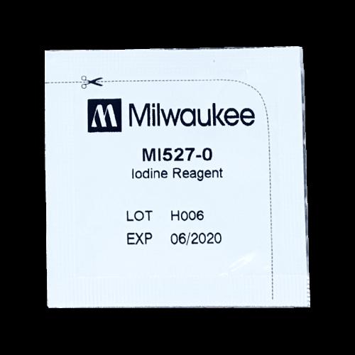 Milwaukee MI527 йод (порошковый реагент для фотометра MW13) пакет из 25 штук