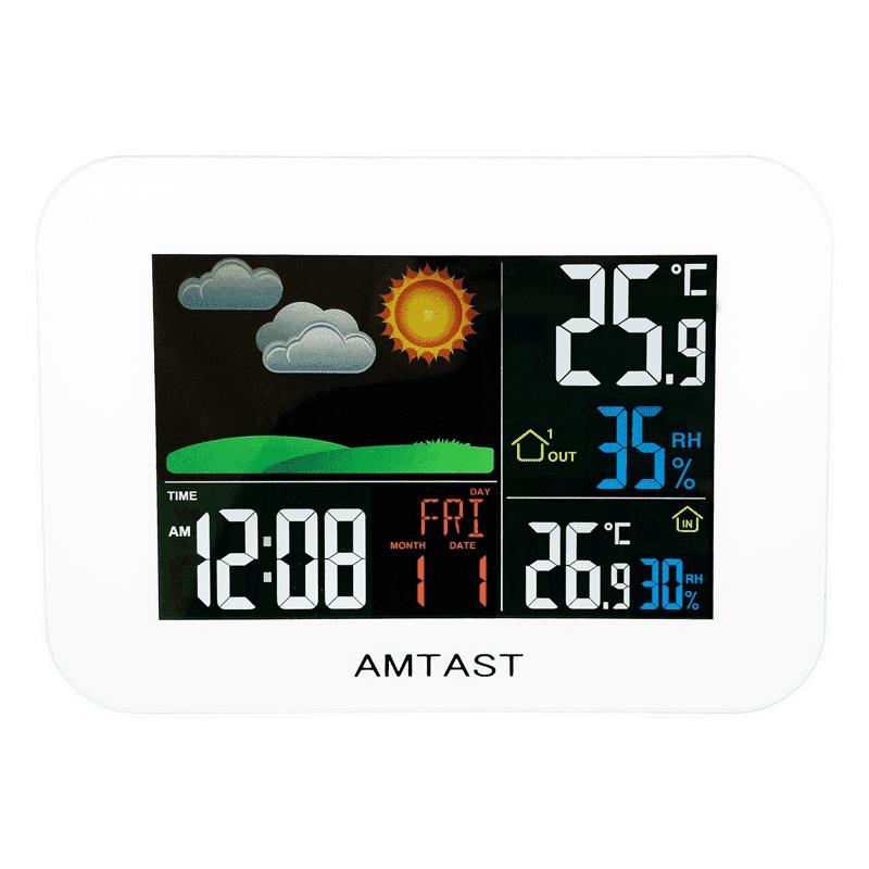 AMTAST AW005 метеостанция (лицевая сторона(монитор))
