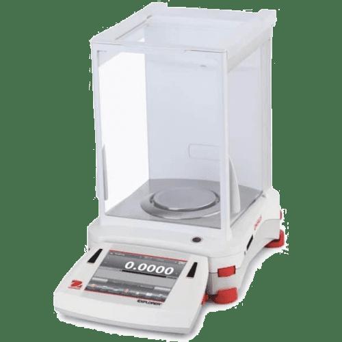Ohaus EX224/AD Аналитические весы с электроприводом дверок (Госреестр)