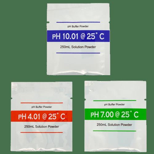Порошки для приготовления калибровочных растворов pH 3 шт. (4.01 / 7.00 / 10.01)