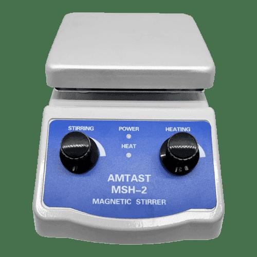 AMTAST SH-2 магнитная мешалка с подогревом (вид сбоку)