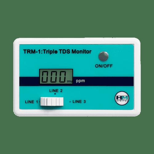 HM Digital TRM-1 трехлинейный солемер монитор качества воды