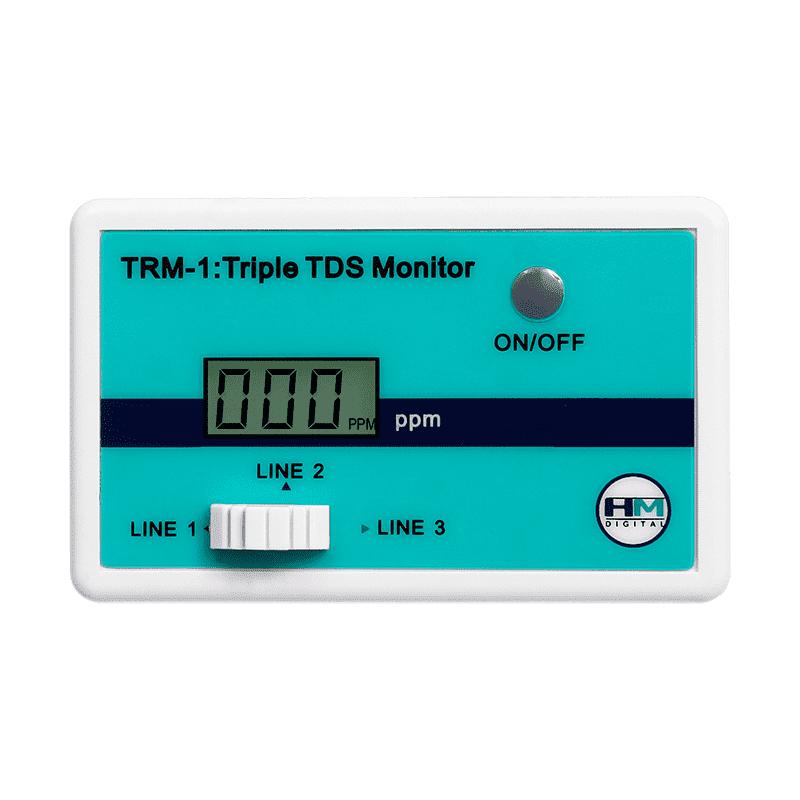 Трехлинейный монитор качества воды TRM-1 HM Digital