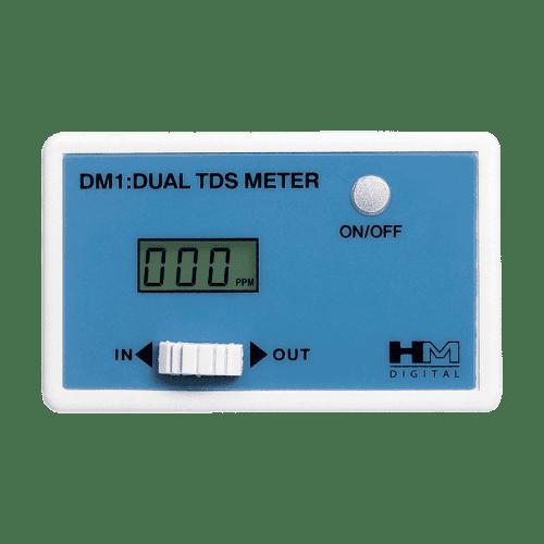 TDS Monitor DM-1 онлайн монитор эффективности очистки воды в двух точках