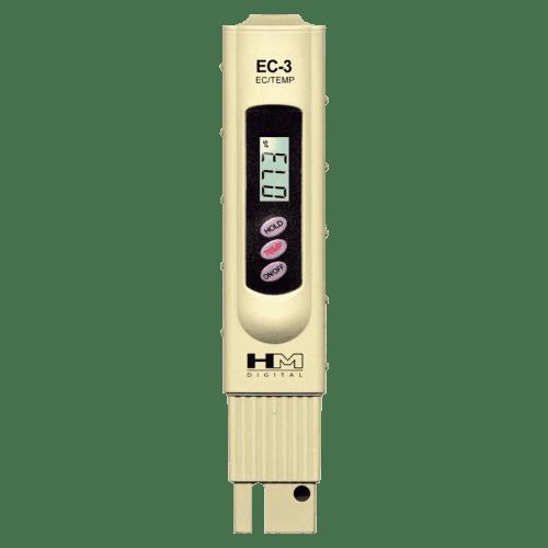HM Digital EC-3 кондуктометр, термометр, измерение электропроводности