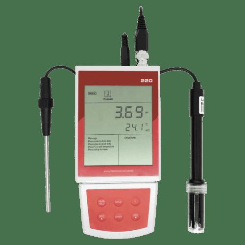 AMTAST PH-220 мультитестер рН, ORP метр, термометр