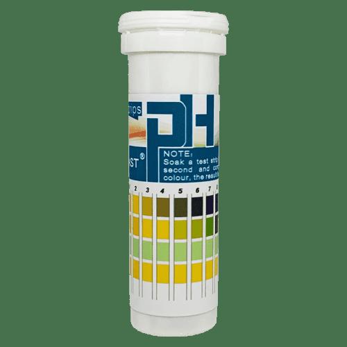 Индикаторная бумага pH тест полоски 150 штук pH от 0 до 14 (банка с полосками)