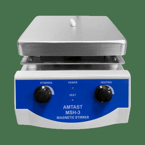 AMTAST MSH-3 магнитная мешалка с подогревом 170х170 до 3 литров