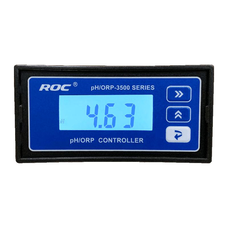 Create PH/ORP-3500 pH/ОВП метр монитор/контролер, трансмиттер (вид от экрана)