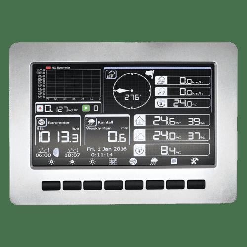 Беспроводная WiFi метеостанция с TFT дисплеем AW003 Amtast (монитор)
