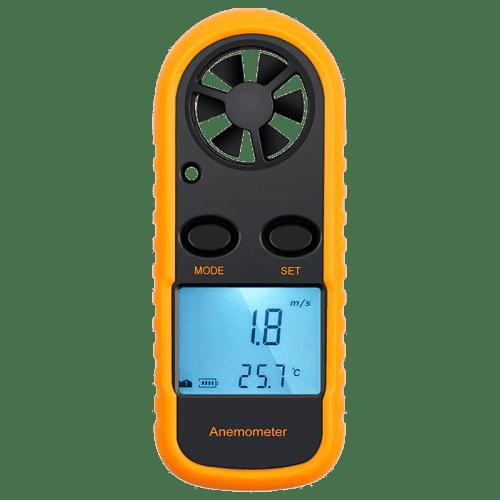 AMTAST AMF006 (компактный анемометр для вентиляции, дымоходов)