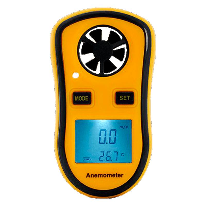 AMTAST AMF001 (Портативный анемометр для измерения скорости и температуры ветра)