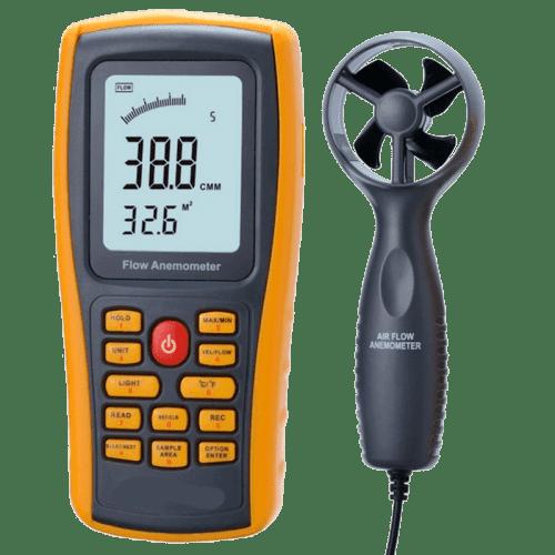 AMTAST AMF028 (профессиональный анемометр с USB)
