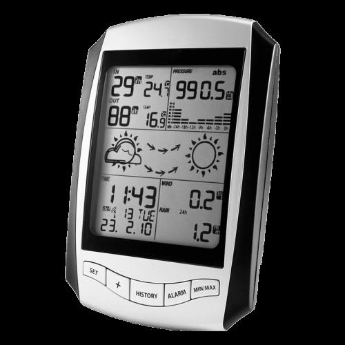 Профессиональная метеостанция AMTAST EMS001 с беспроводными датчиками (монитор)