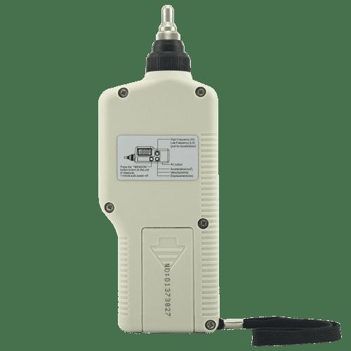Портативный виброметр Smart Sensor AR63A вид сзади